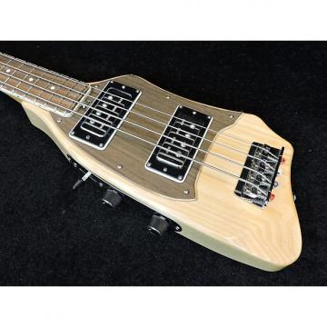 Custom Eko Travel Bass. Natural. Gig Bag Included