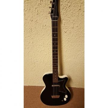 Custom Silvertone 1444 Bass 1960s Black