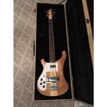 Custom left handed bass guitar miller