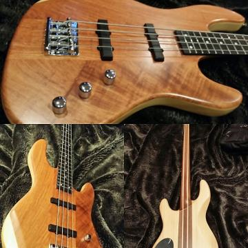 Custom Brand New Wolf  Jazz Bass 2016 Bubinga