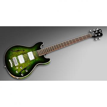 Custom Warwick Starbass II 2015 Greenburst