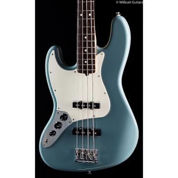 Custom Fender American Pro Professional Jazz Bass Sonic Grey Maple Lefty (694)