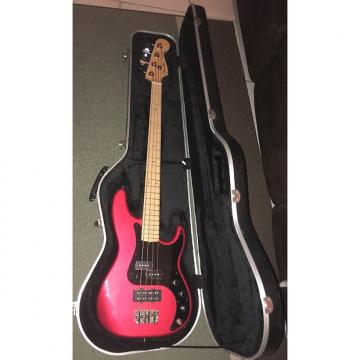 Custom Fender American Deluxe Precision Bass 2001 Chrome Red