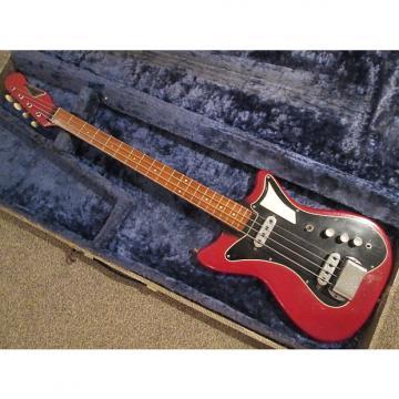 Custom Burns  Sonic bass 1960/2 red/black