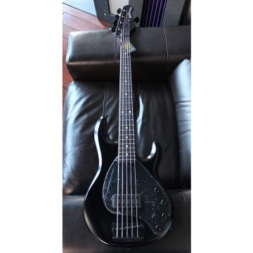 Custom Ernie Ball Music Man StingRay 5 H (Stealth Black, Ebony Fingerboard, 5-String)