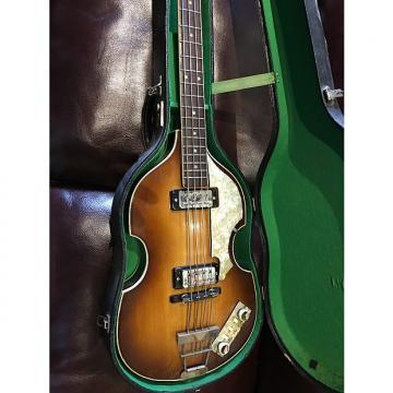 Custom Hofner Beatle bass 1966    McCartney finish