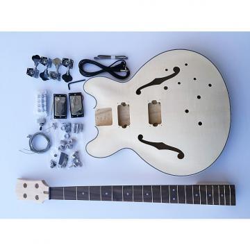 Custom DIY DIY Electric Bass Guitarit - Hollow Body Bass Build Your Own