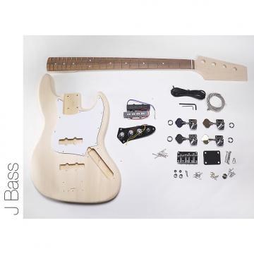 Custom DIY DIY Electric Bass Guitarit - J Bass Build Your Own