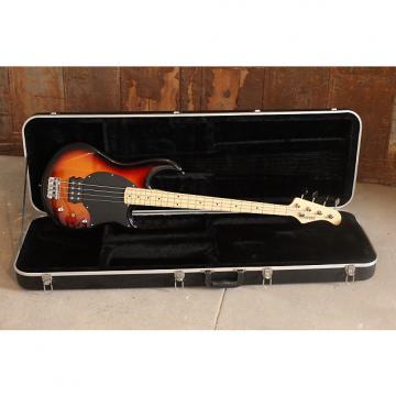 Custom Fernandes Atlas 4 Electric Bass, Vintage Sunburst + Fernandes Hardshell ABS Case