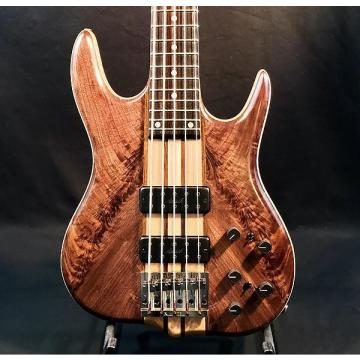 Custom Ken Smith BT5 Vintage Black Tiger 5-String Electric Bass