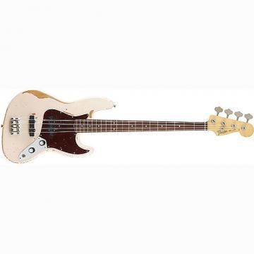 Custom Fender Flea Signature Jazz Bass Guitar Rosewood Road Worn Faded Shell Pink
