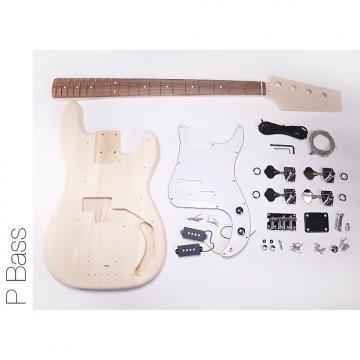 Custom DIY DIY Electric Bass Guitarit - P Bass Build Your Own