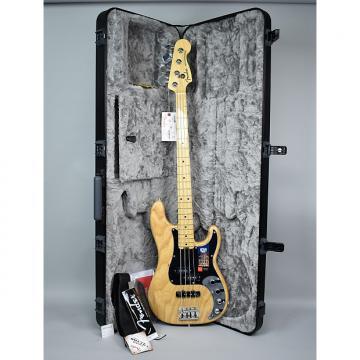 Custom Fender  American Elite Precision Bass Guitar Natural Finish USA w/OHSC 2016 Natural