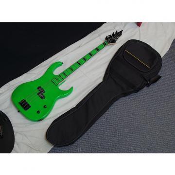 Custom DEAN Custom Zone 4-string BASS guitar w/ BAG - NEW - Florescent Nuclear Green