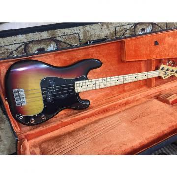 Custom Super Light Fender Precision Bass 1975 Sunburst