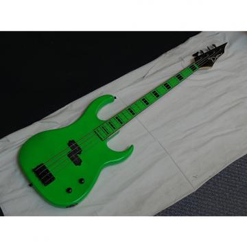 Custom DEAN Custom Zone 4-string BASS guitar - NEW - Florescent Nuclear Green