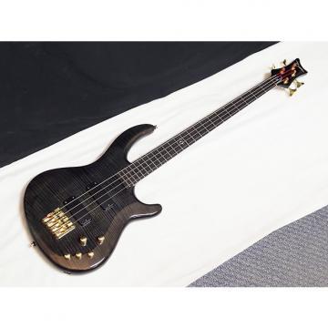 Custom DEAN Edge PRO 4-string BASS guitar NEW Trans Black - Active - Neck-through - B