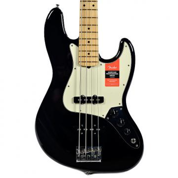 Custom Fender American Pro Jazz Bass MN Black