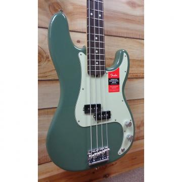 Custom New Fender® American Professional Precision Bass® Rosewood Fingerboard Antique Olive w/Case