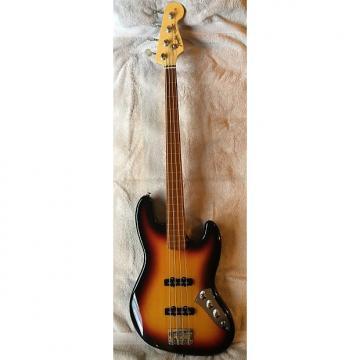 Custom Fender Custom Shop (John Page Era) '62 Reissue Fretless Jazz Bass 1994 3 Tone Sunburst