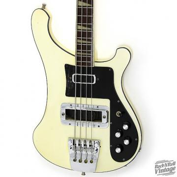 Custom 1976 Rickenbacker 4001 Bass White