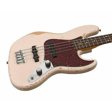Custom Fender Flea Signature Roadworn Bass Shell Pink