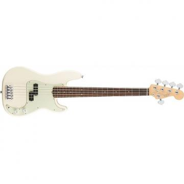 Custom Fender American Pro Precision Bass V - Rosewood Fingerboard - Olympic White