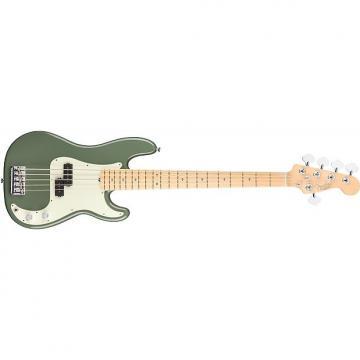 Custom Fender American Pro Precision Bass V - Maple Fingerboard - Antique Olive