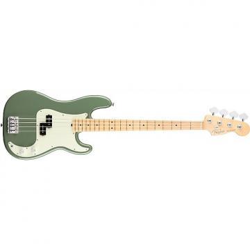 Custom Fender American Pro Precision Bass - Maple Fingerboard - Antique Olive