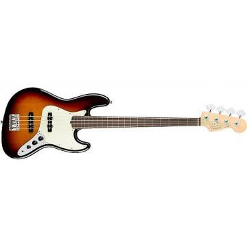 Custom Fender American Pro Jazz Bass Fretless - Rosewood Fingerboard - 3 -Color Sunburst