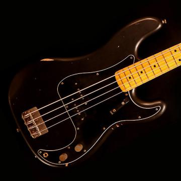 Custom Nash PB-57 Bass Guitar - Black - Nash PB-57 Bass Guitar - Black