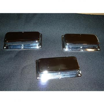 Custom Gibson Thunderbird Bicentennial 1976 Nickel Pickup Covers and Rings