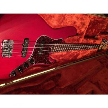 Custom Fender American Deluxe Jazz 1999 Candy Apple Red