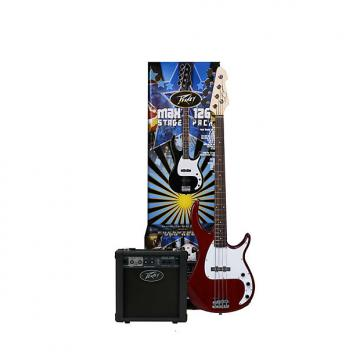 Custom Peavey MAX Bass Pack - Milestone bass guitar, 126 bass amp, cable, bag, tuner,strings 03569140