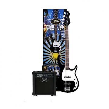Custom Peavey MAX Bass Pack - Milestone bass guitar, 126 bass amp, cable, bag, tuner,strings 03569020 2016