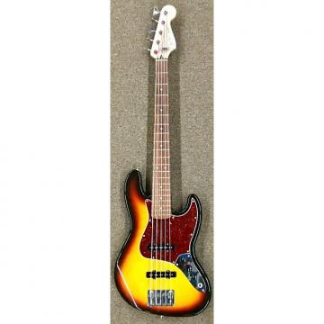Custom Fender Jazz Sunburst