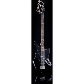 Custom Squier Vintage Modified Jaguar Bass Special Short Scale Black