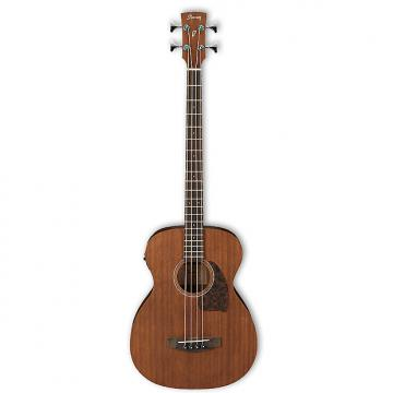 Custom Ibanez PCBE12MH Mahogany Acoustic Bass