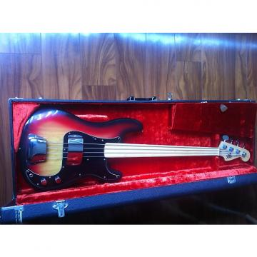 Custom Vintage Fender P bass fretless 1978 Sunburst