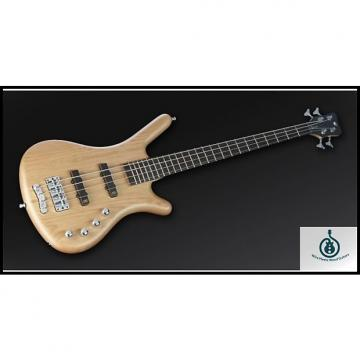 Custom Warwick RockBass Corvette Basic 4 Medium Scale, Fretted, Active, Natural Satin, Alder Body