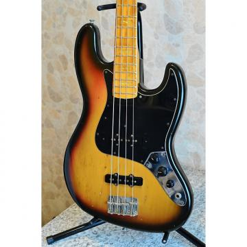 Custom Fender Jazz Bass 1974 Sunburst VG Condition w/VIDEO