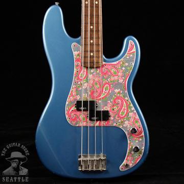 Custom Fender Standard Precision Fretless Bass Lake Placid Blue