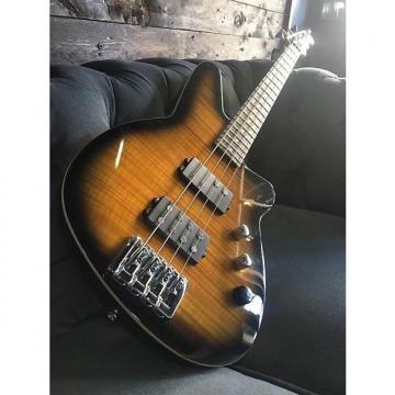 Custom Reverend Mercalli 4string Bass 2016 Coffee Burst