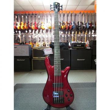 Custom Spector Performer 5 Metallic Red 5-String Bass Guitar
