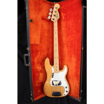 Custom Fender  Precision Bass 1974 Natural
