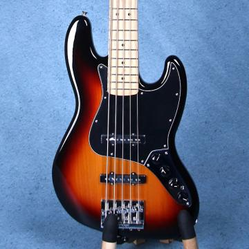 Custom Fender Deluxe Active Jazz Bass V - Electric Bass Guitar - 3-Tone Sunburst MX16737875