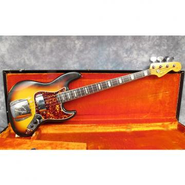 Custom 1966 Fender Jazz 3 Tone Sunburst