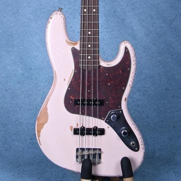 Custom Fender Flea Signature Electric Bass Guitar - Roadworn Shell Pink MX16770047