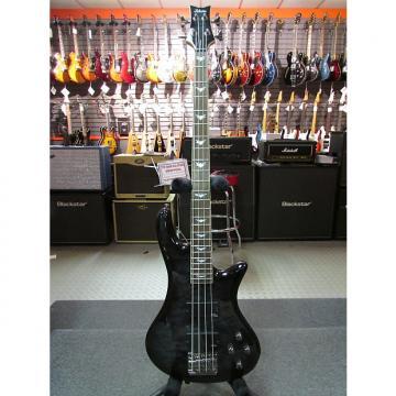 Custom Schecter Stiletto Extreme-4 See-Thru Black (STBLK) 2503