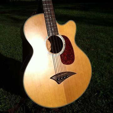 Custom Dean Acoustic Bass